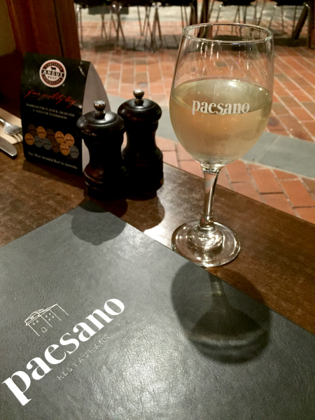 Paesano Restaurant Review