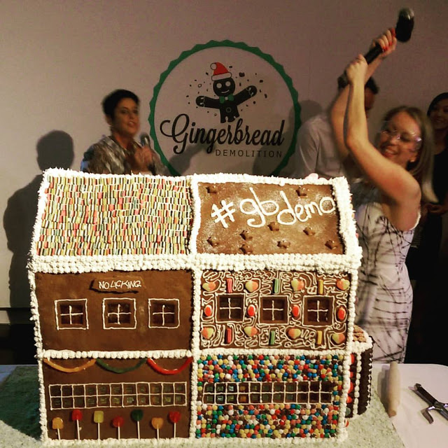 The Gingerbread Demolition – a Melbourne Charity Event